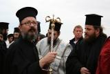Перед молитвой. Праздник Крещения устроила православная греческая церковь