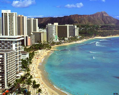 Diamond Head Oahu Hawaii w