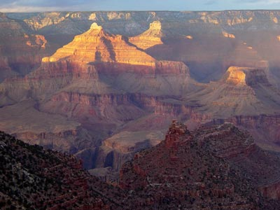 South Rim of Grand Canyon w