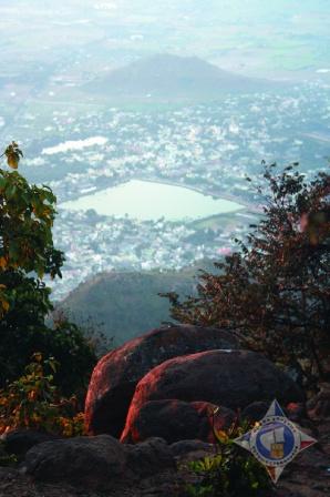 Вид с горы Аруначала